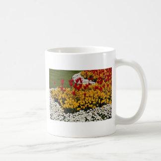 yellow Rainbow flowerbeds flowers Mug