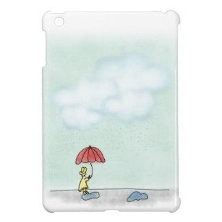 Yellow Raincoat iPad Mini Case