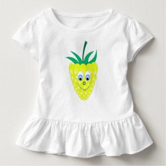 yellow raspberry face smile toddler T-Shirt
