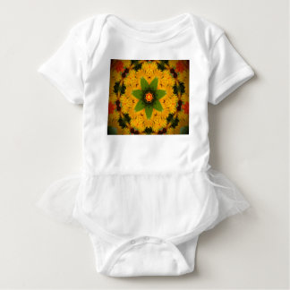 Yellow ray baby bodysuit