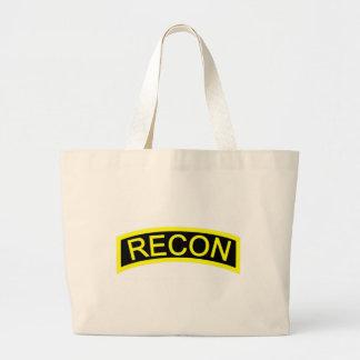 Yellow Recon Tab Tote Bag