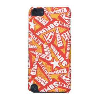 Yellow, Red, and White iPod Touch (5th Generation) Cover