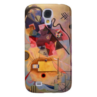 Yellow Red Blue Galaxy S4 Case