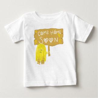 Yellow Ribbon Come Home Soon Tee Shirts