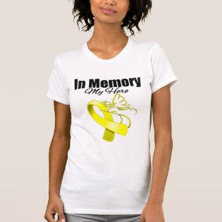 Yellow Ribbon In Memory of My Hero T-shirts