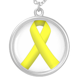 Yellow Ribbon Necklaces