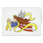 Yellow Ribbon Parriotic Angel