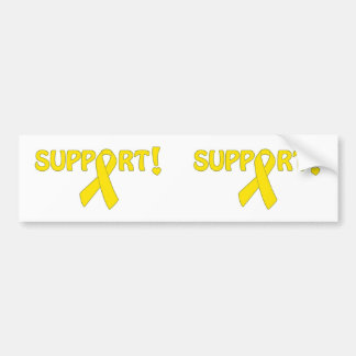 Yellow Ribbon Support Bumper Stickers