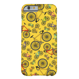 Yellow road bikes barely there iPhone 6 case