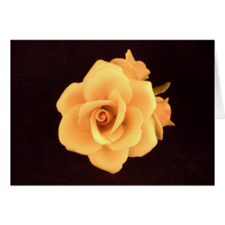 Yellow Rose 2004 Photo. Card