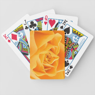 Yellow Rose Bicycle Playing Cards