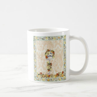 Yellow Rose Birdhou... Basic White Mug