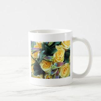 Yellow Rose Buds Coffee Mug
