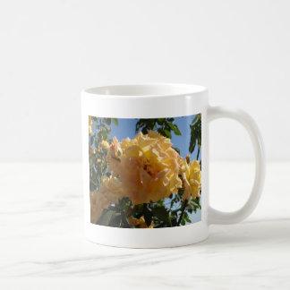 Yellow Rose Bush Coffee Mug