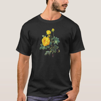 Yellow Rose by Pierre Joseph Redoute T-Shirt