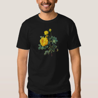 Yellow Rose by Pierre Joseph Redoute Tee Shirts