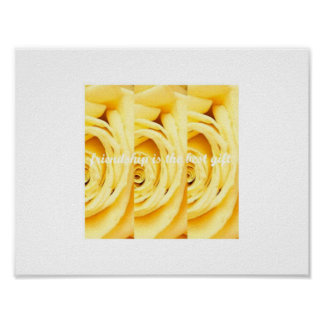 Yellow Rose Collection Poster by Ahsek Novel