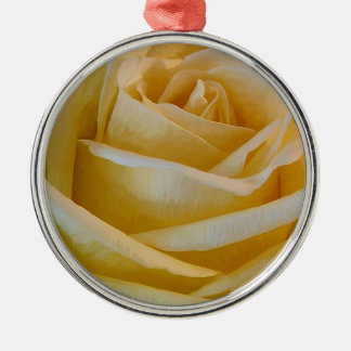 Yellow Rose Ornaments