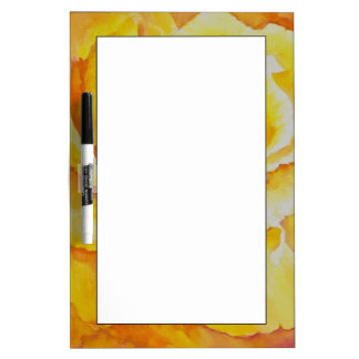 Yellow Rose Dry Erase Board