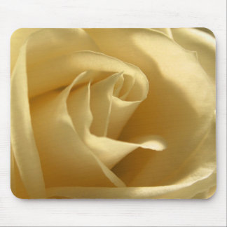 Yellow Rose Flower Petals Pretty Floral Photo Mouse Mat