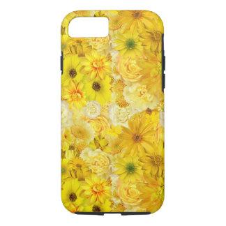 Yellow Rose Friendship Bouquet Gerbera Daisy iPhone 8/7 Case