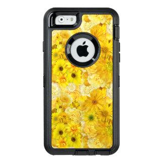Yellow Rose Friendship Bouquet Gerbera Daisy OtterBox Defender iPhone Case