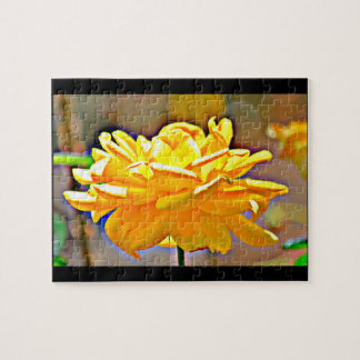 Yellow Rose in Chromatic Game Puzzle