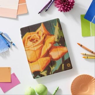 Yellow Rose iPad Cover