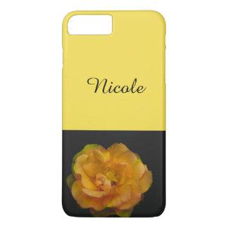 Yellow rose iPhone 8 plus/7 plus case