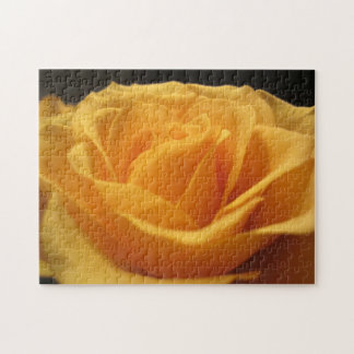 Yellow rose jigsaw puzzle