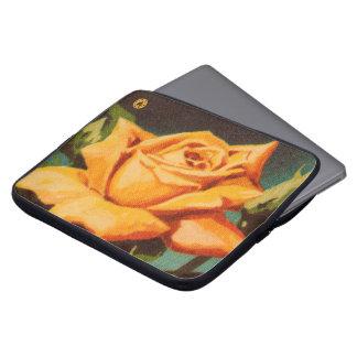 Yellow Rose Laptop Sleeves