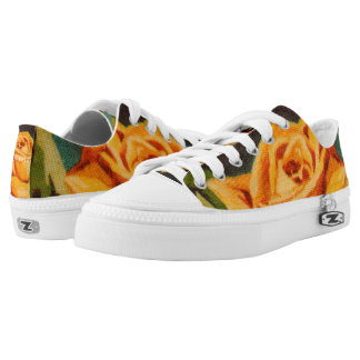 Yellow Rose Low Tops