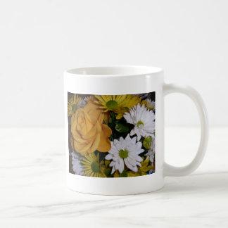 yellow rose mugs