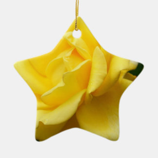 Yellow Rose of Texas Christmas Ornament