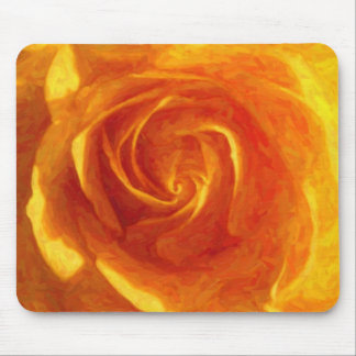 Yellow Rose Oil Painting mousepad