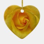 Yellow Rose Ornament Romantic Rose Decorations