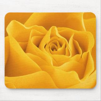 Yellow Rose Petals Mouse Mat