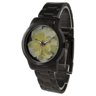 Yellow Rose Photo Watch