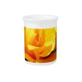 Yellow Rose Pitcher