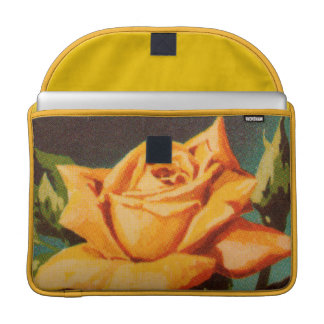 Yellow Rose Sleeves For MacBooks