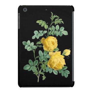 Yellow Rose vintage botanical illustration iPad Mini Covers