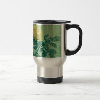 Yellow Rose Vintage Style Photo Coffee Mugs