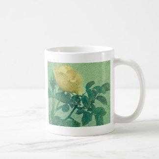 Yellow Rose Vintage Style Photo Mug