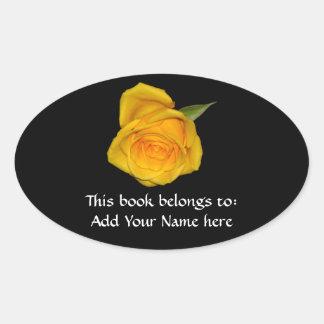Yellow Rosebud Sticker