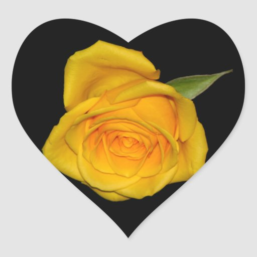 Yellow Rosebud Sticker
