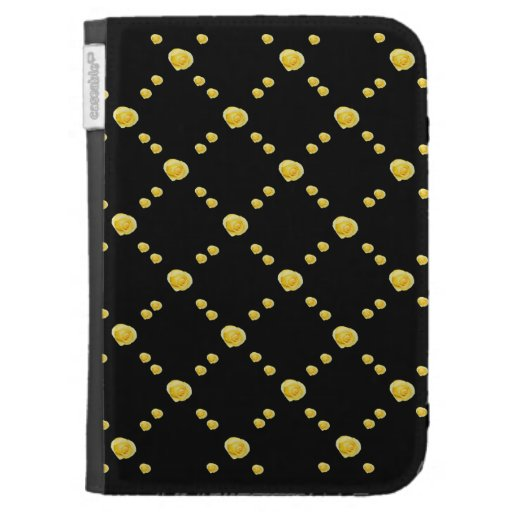 Yellow Rosebuds Cases For Kindle