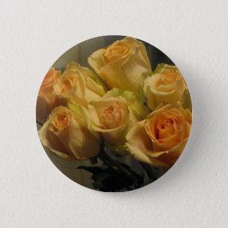 Yellow Roses 6 Cm Round Badge