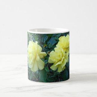 Yellow Roses Basic White Mug