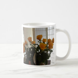 Yellow Roses coffee cup