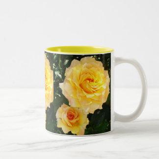 Yellow Roses Cup Two-Tone Mug